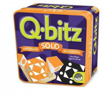 Q-bitz Solo Orange Edition Brain Teaser Game