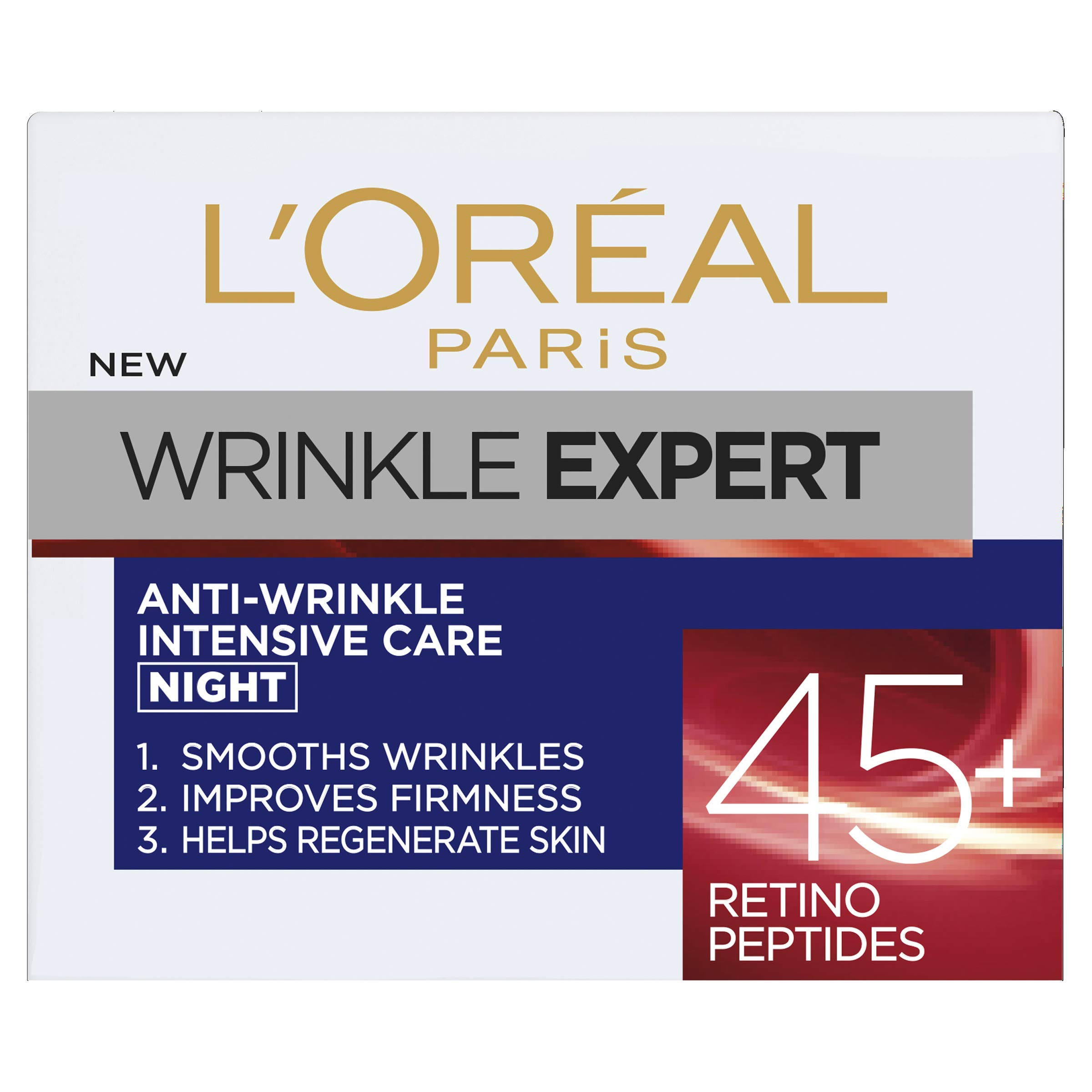 L'Oreal Wrinkle Expert 45+ Retino Peptides Night Cream, 50 ml