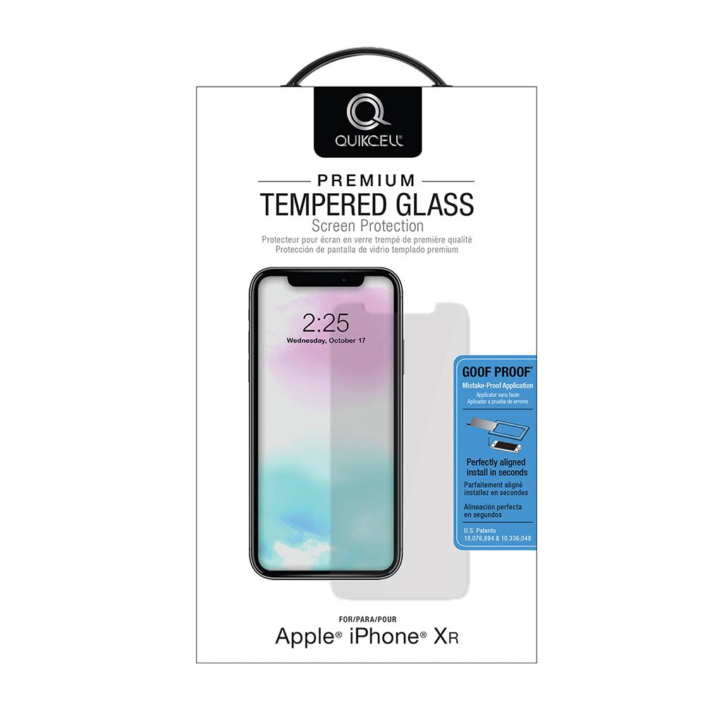 Quikcell GPIP9 Tempered Glass Screen Protector for Apple iPhone 11/XR