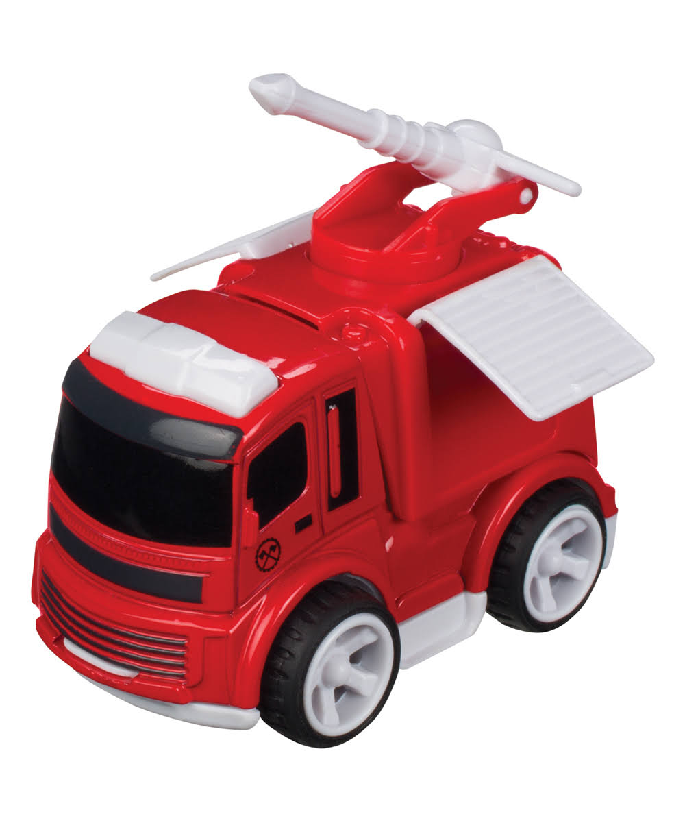 Toysmith Mini Fire Truck Toy One-Size