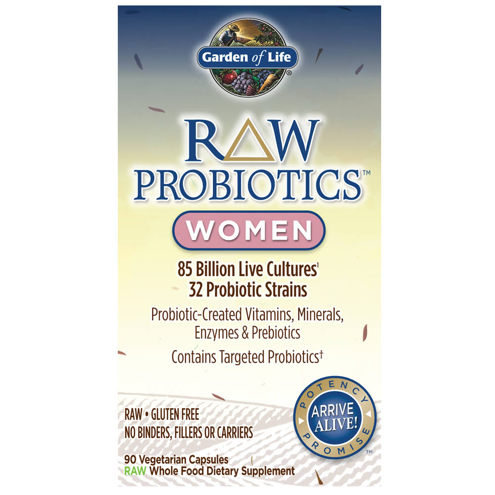 Garden of Life Raw Probiotics for Women