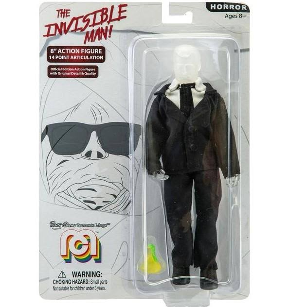 Mego 8-Inch Invisible Man Action Figure