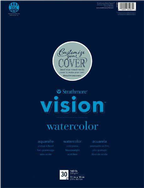 "Strathmore Vision Watercolor Pad - 11"" X 15"""