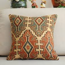 Black Sofa Covers India by Inspiring Traditional Pattern Throw Pillow Pattern With Brown And