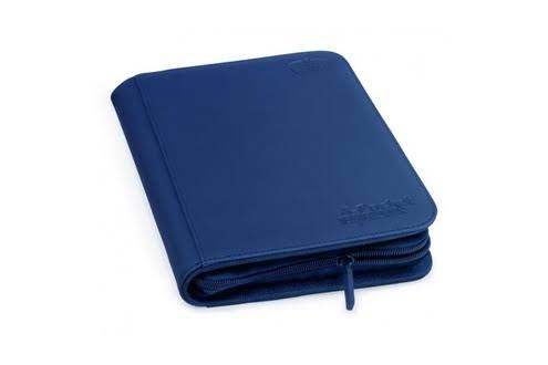 Ultimate Guard XenoSkin ZipFolio - Dark Blue, 4 Pocket