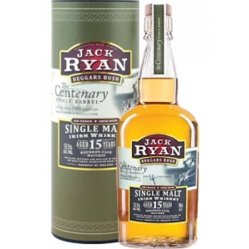 Cooley Jack Ryan Centenary Single Barrel 15 Year Old 2000