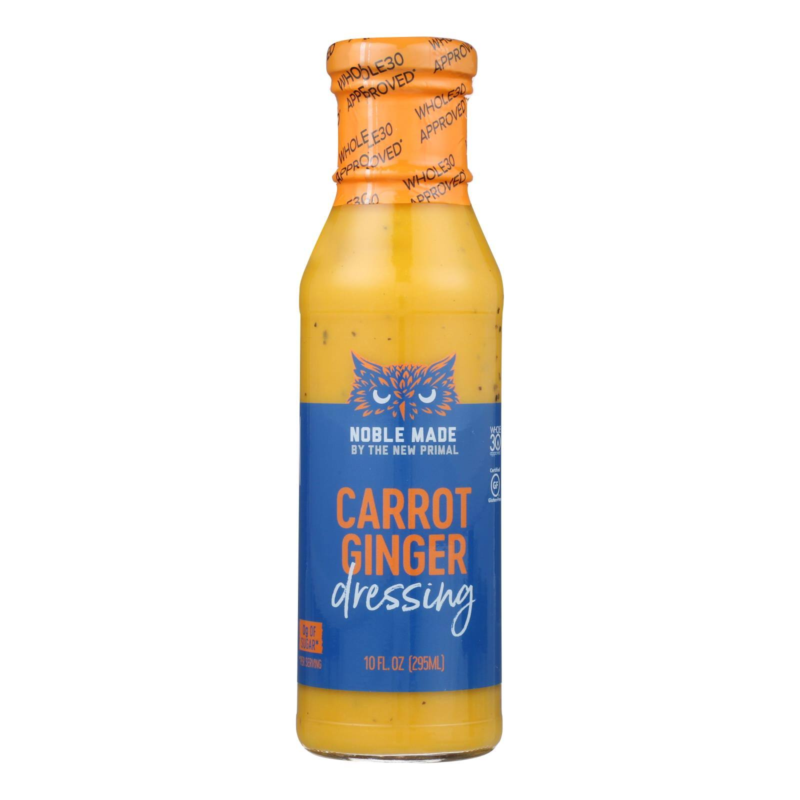 New Primal Dressing, Carrot Ginger - 10 fl oz