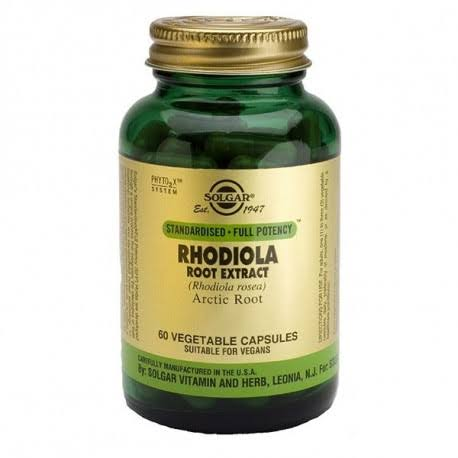 Solgar Rhodiola Root Extract - 60 capsules