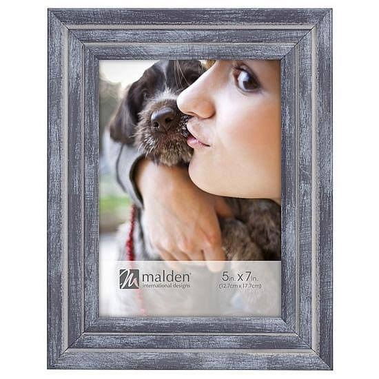 Malden Ridges Picture Frame, Blue