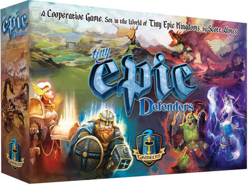 Gamelyn Games Tiny Epic Defenders, 2nd Edition