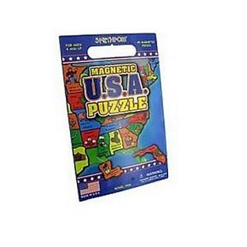 Smethport Magnetic USA Puzzle - Pack of 6
