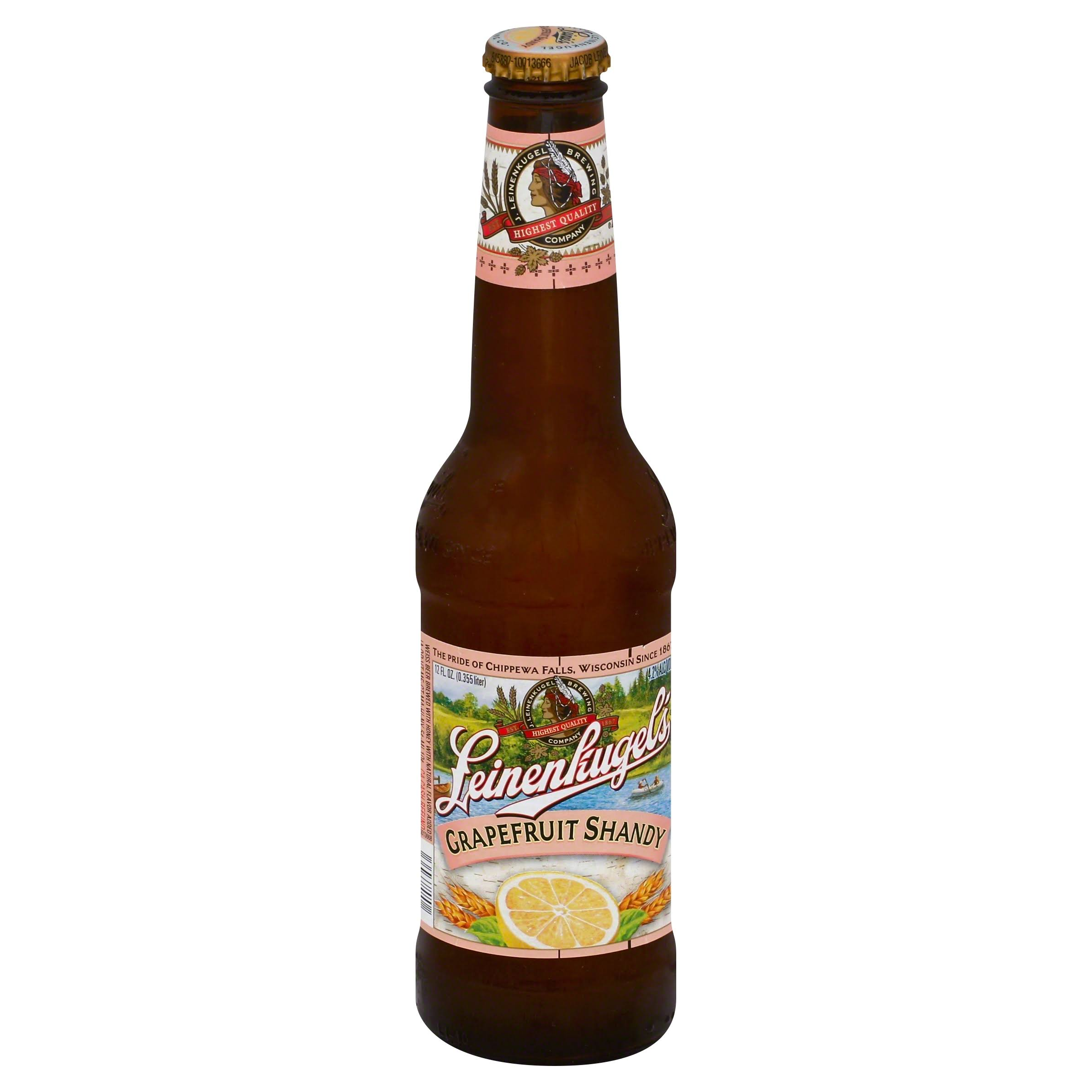 Leinenkugels Beer, Shandy, Grapefruit - 12 fl oz