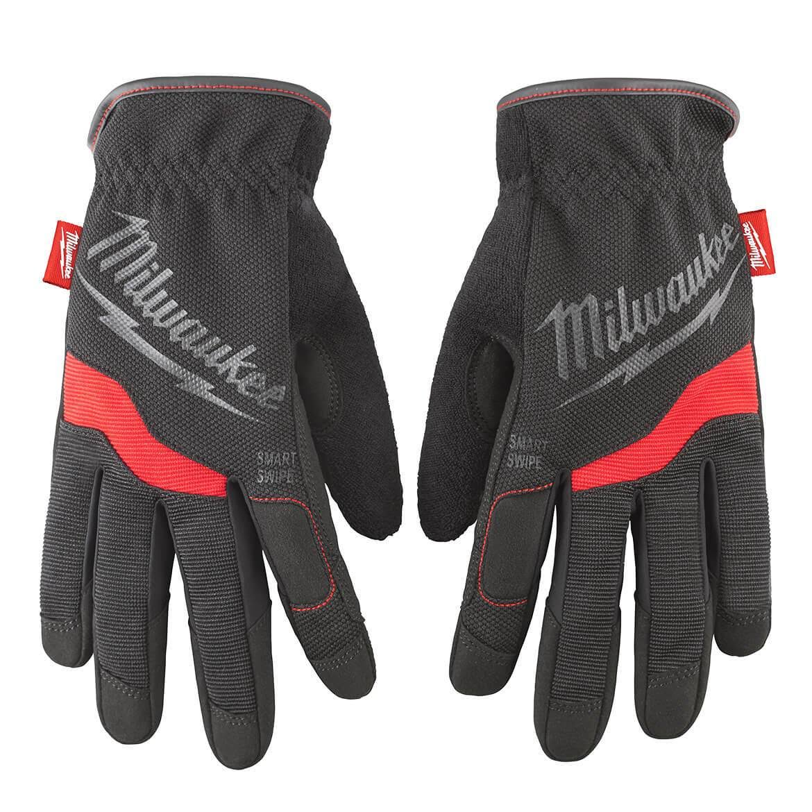 Milwaukee Free Flex Work Gloves - Black, Large