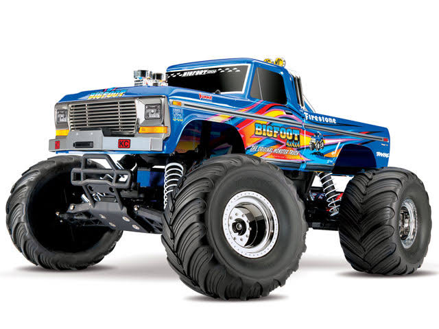 Traxxas 1/10 2WD Bigfoot No. 1 Monster Truck RTR, Blue