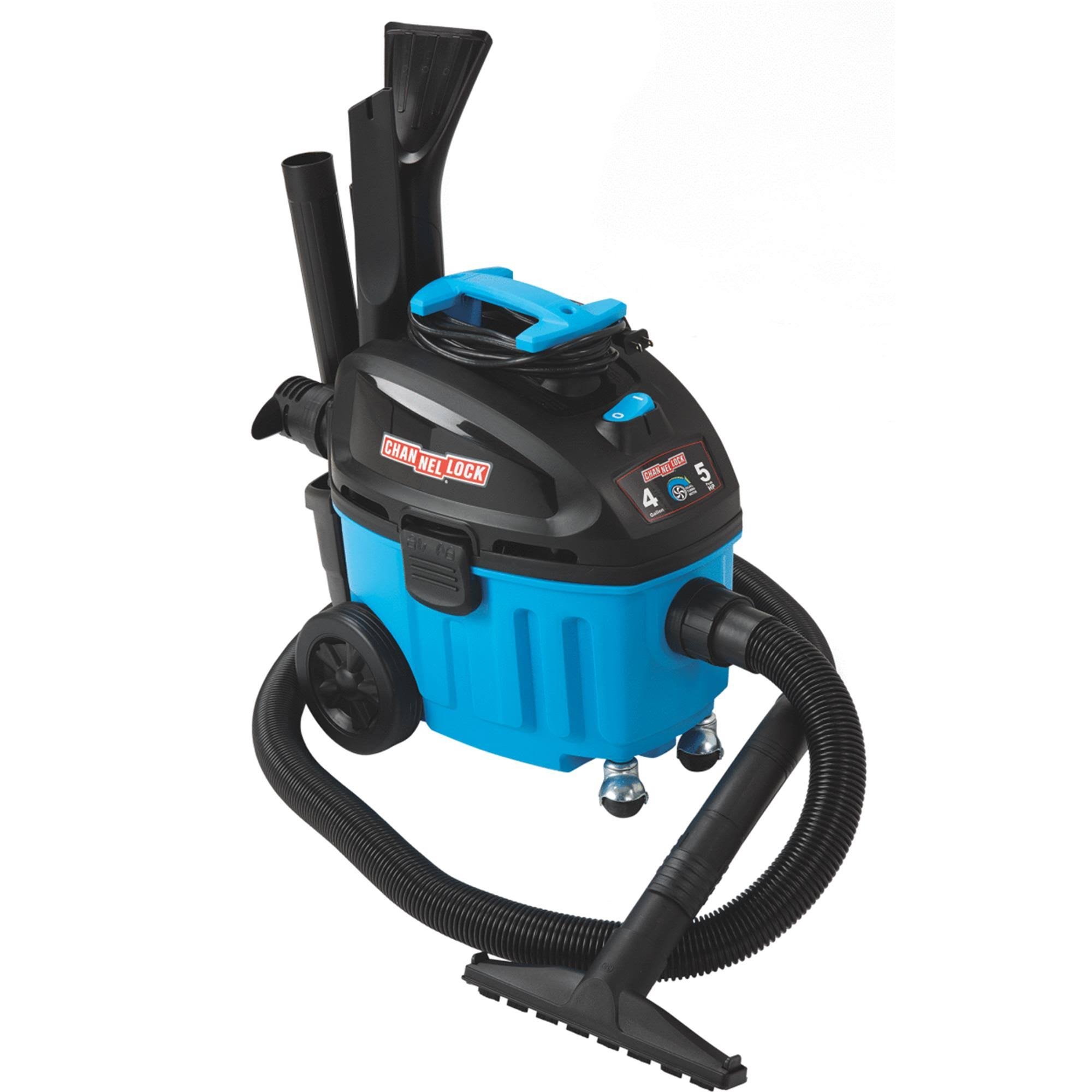 Channellock Contractor Wet/dry Vacuum - 4gal
