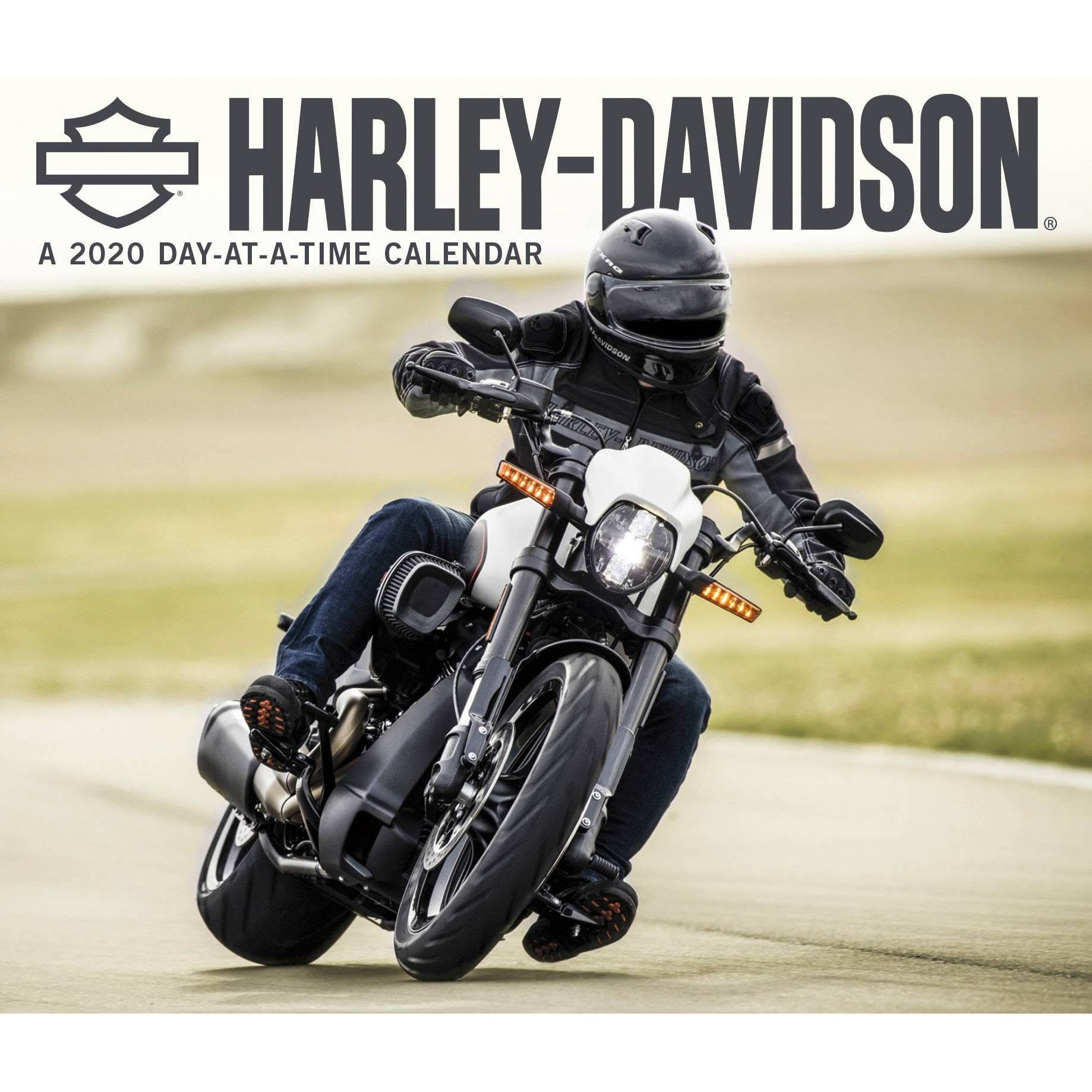 Trends International 2020 Harley-Davidson Day-at-a-Time Box Calendar