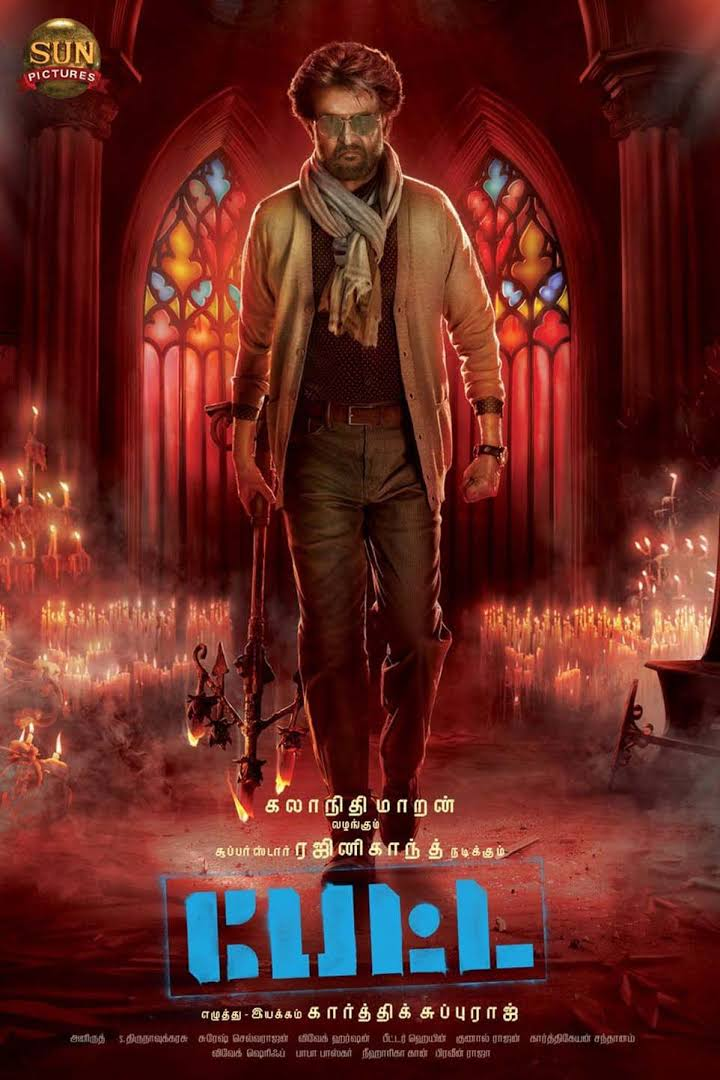 Petta 2019 500MB 480p Full Movie Download PreDVDRip [Tamil-Telugu]