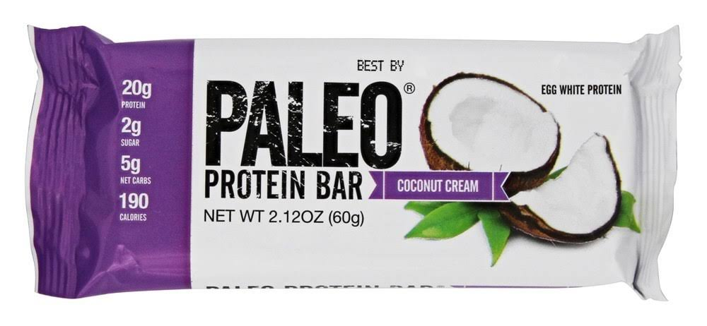 Julian Bakery Paleo Protein Bar Coconut Cream 2.12 oz