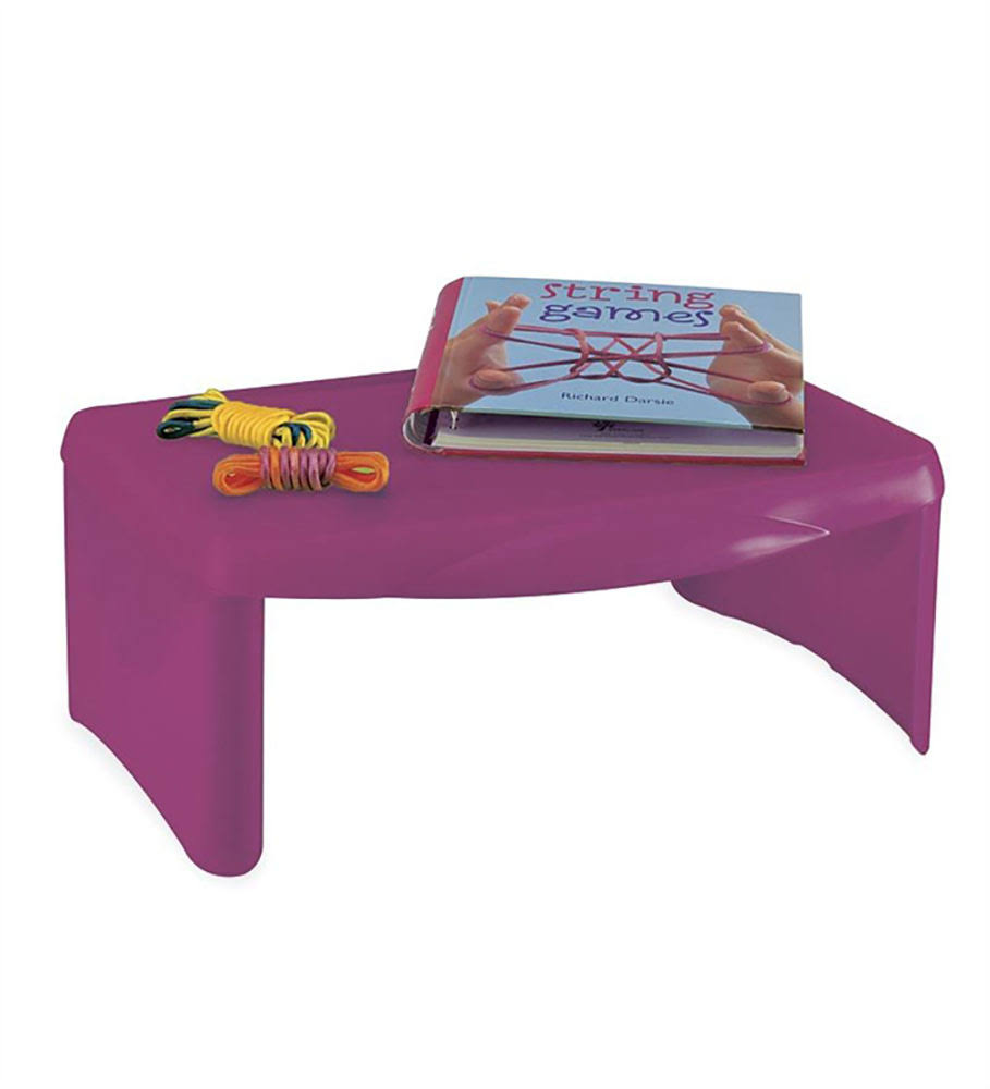 Collapsible Folding Lap Desk in Pink