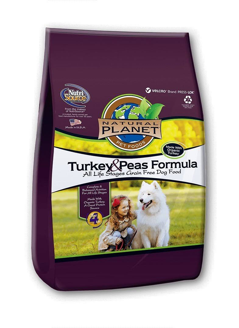 Tuffy'S Pet Food 131597 Tuffy Natural Planet Organics Turkey Food For Dogs - 25lbs