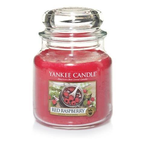 Yankee Candle Red Raspberry Jar Candle - Medium