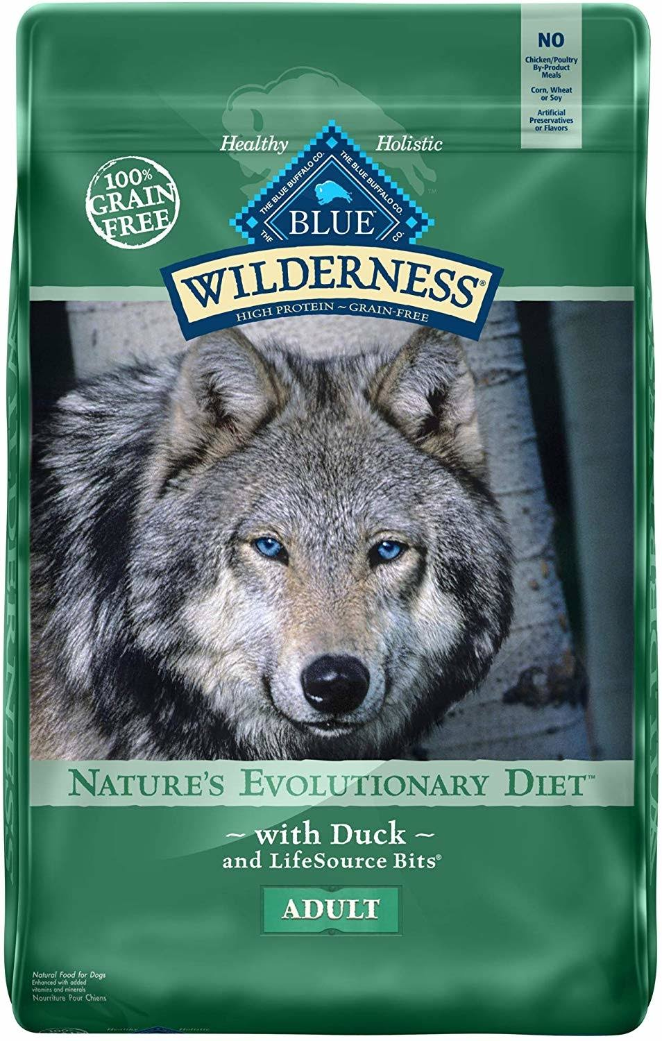 Blue Buffalo Wilderness Duck Recipe Dry Dog Food