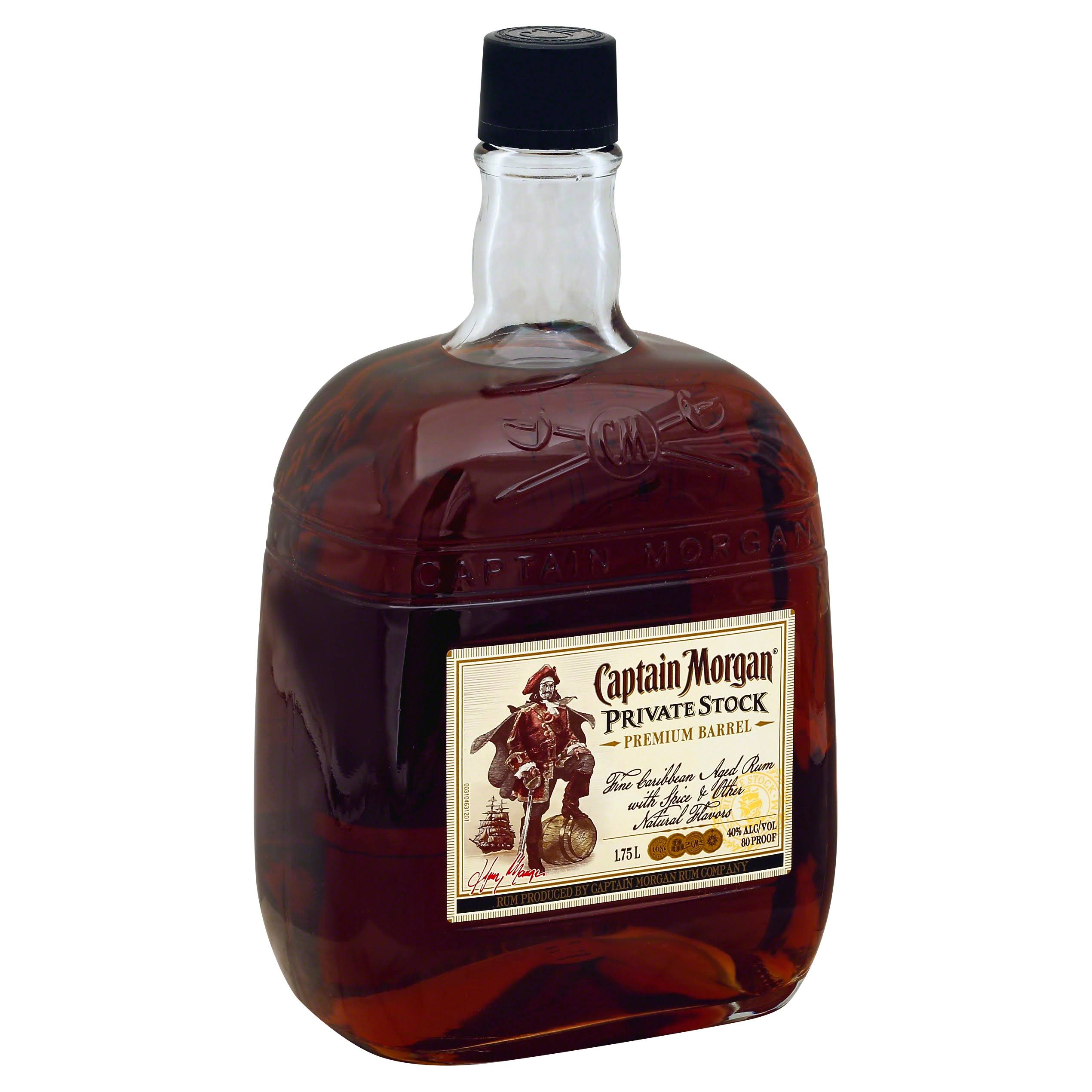 Captain Morgan's Private Stock Rum - 750ml
