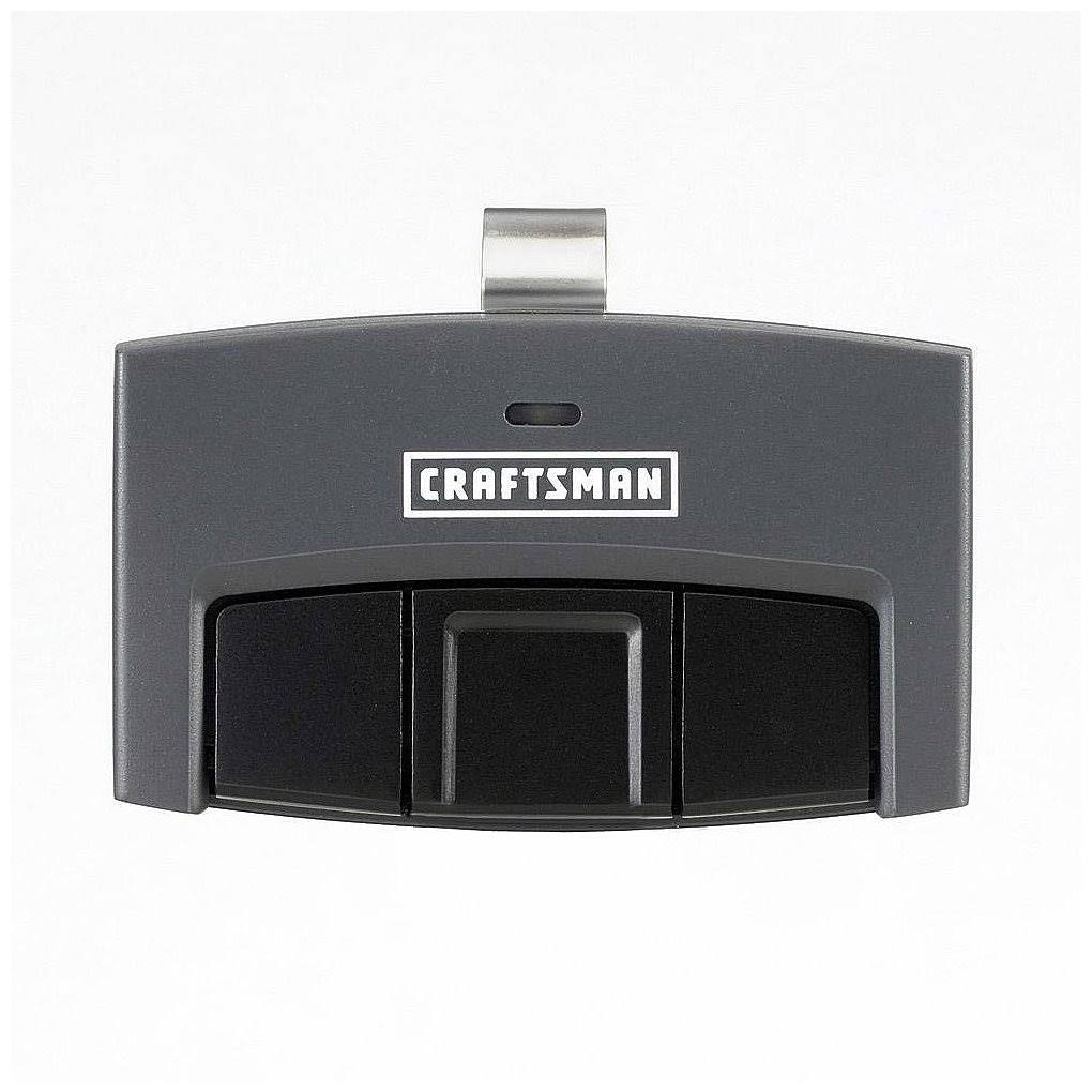 Craftsman Garage Door Opener Visor Remote Control - 3 function