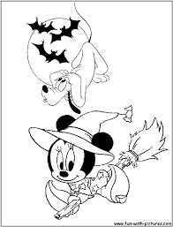 Disney Halloween Coloring Pages by 100 Halloween Coloring Pages Disney Halloween Coloring