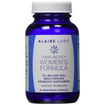 Klaire Labs Ther-Biotic Women's Formula Probiotic Supplement - 60 Capsules