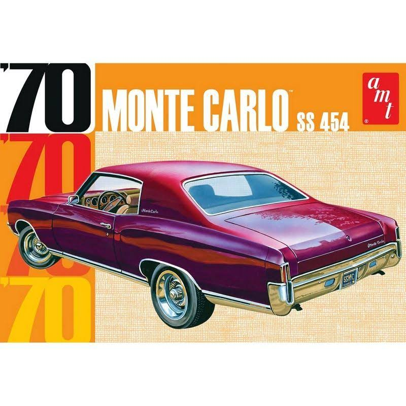 Amt Datasouth Chevy Monte Carlo Car Plastic Model Kit
