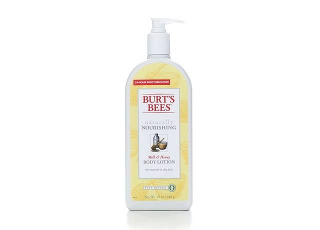 Burt's Bees: Nourishing Body Lotion - Milk & Honey, 12oz