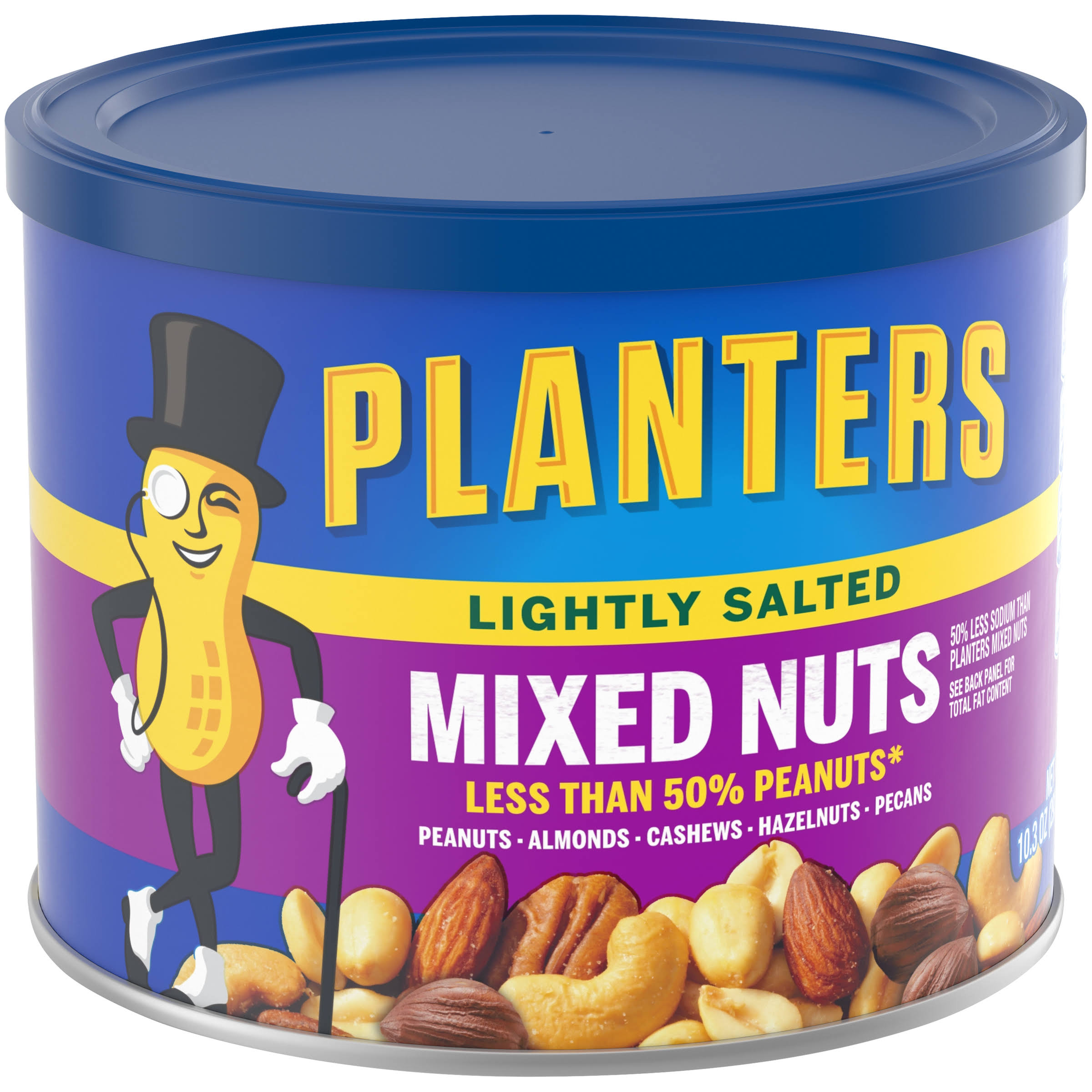 Planters Mixed Nuts - Lightly Salted, 10.3oz