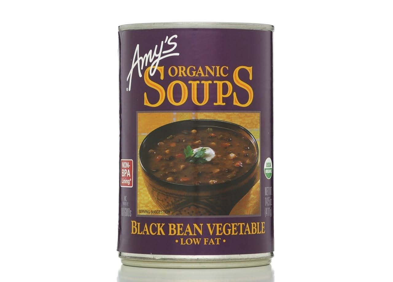 Amy's Organic Black Bean Vegetable Soups - 14.5oz