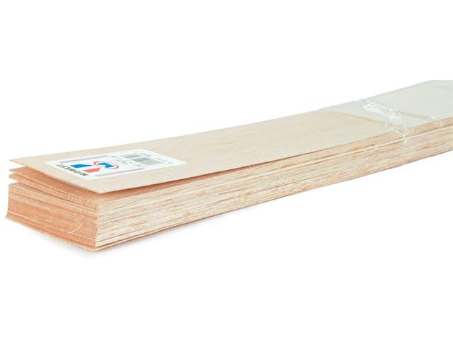 Midwest Balsa Wood - 3/32 in. x 4 in. x 36 in.