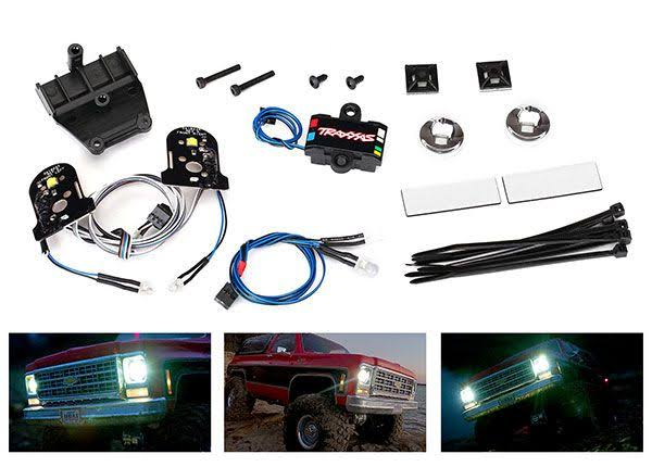 Traxxas 8039 - LED Light Set, Headlights, Tail & Side Lights - TRX-4 Blazer