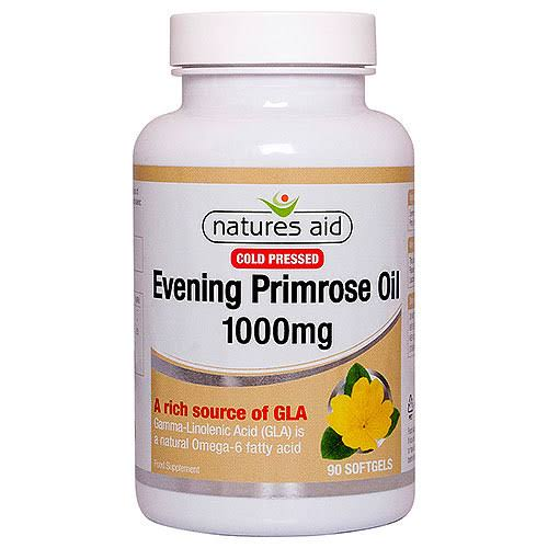 Natures Aid Everyday Essentials Evening Primrose Oil - 1000mg, 90 Pack