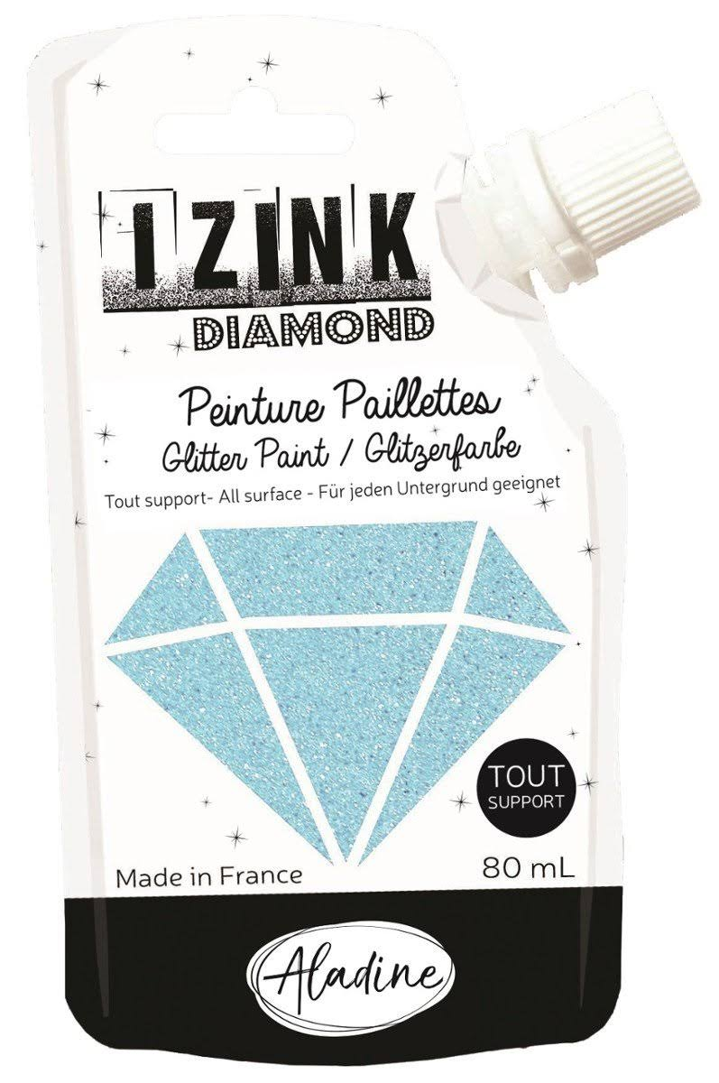 Aladine Izink Diamond Glitter Paint - Sky Blue [80833]