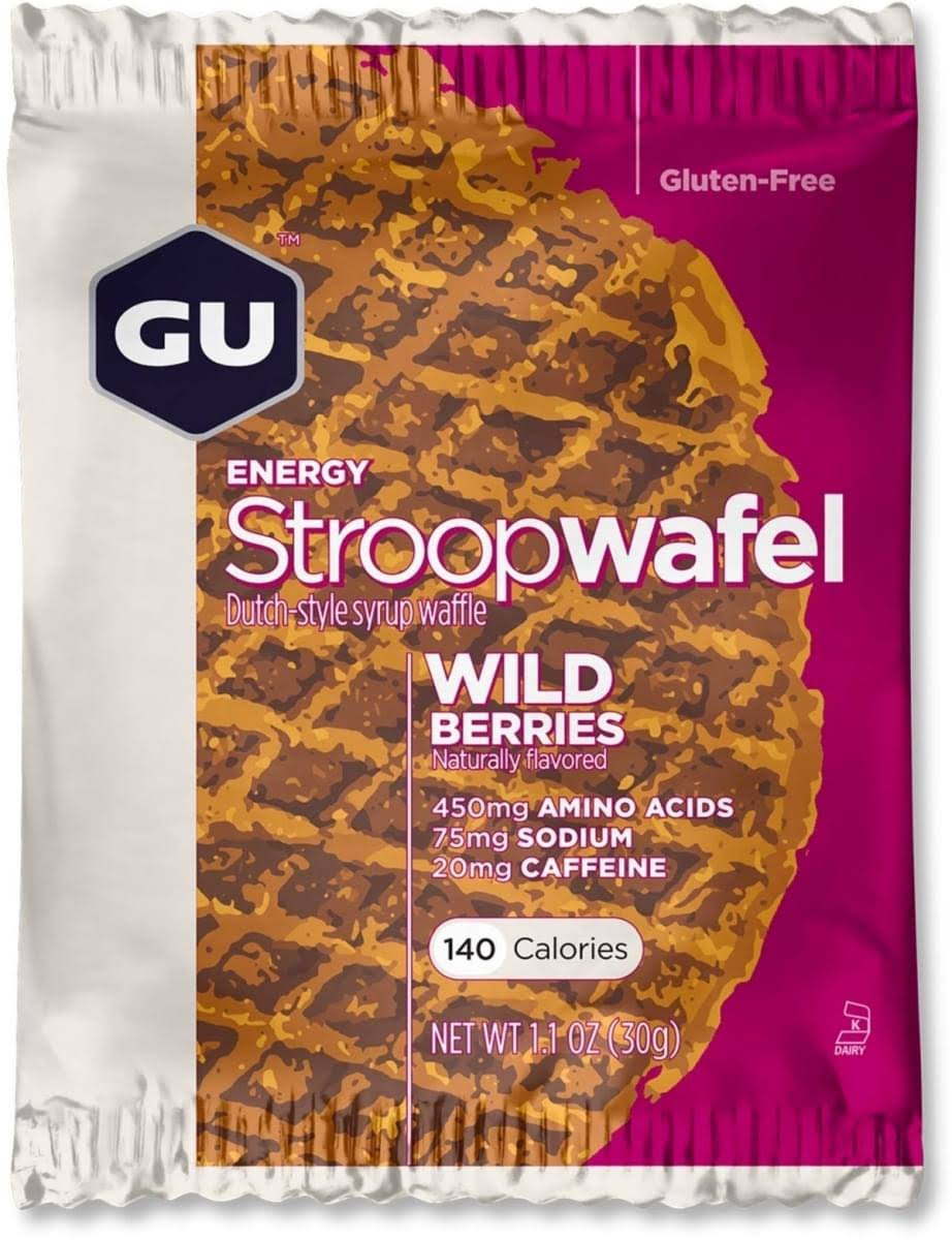GU Energy Stroopwafel Sports Nutrition Waffle - Wild Berries, 32g