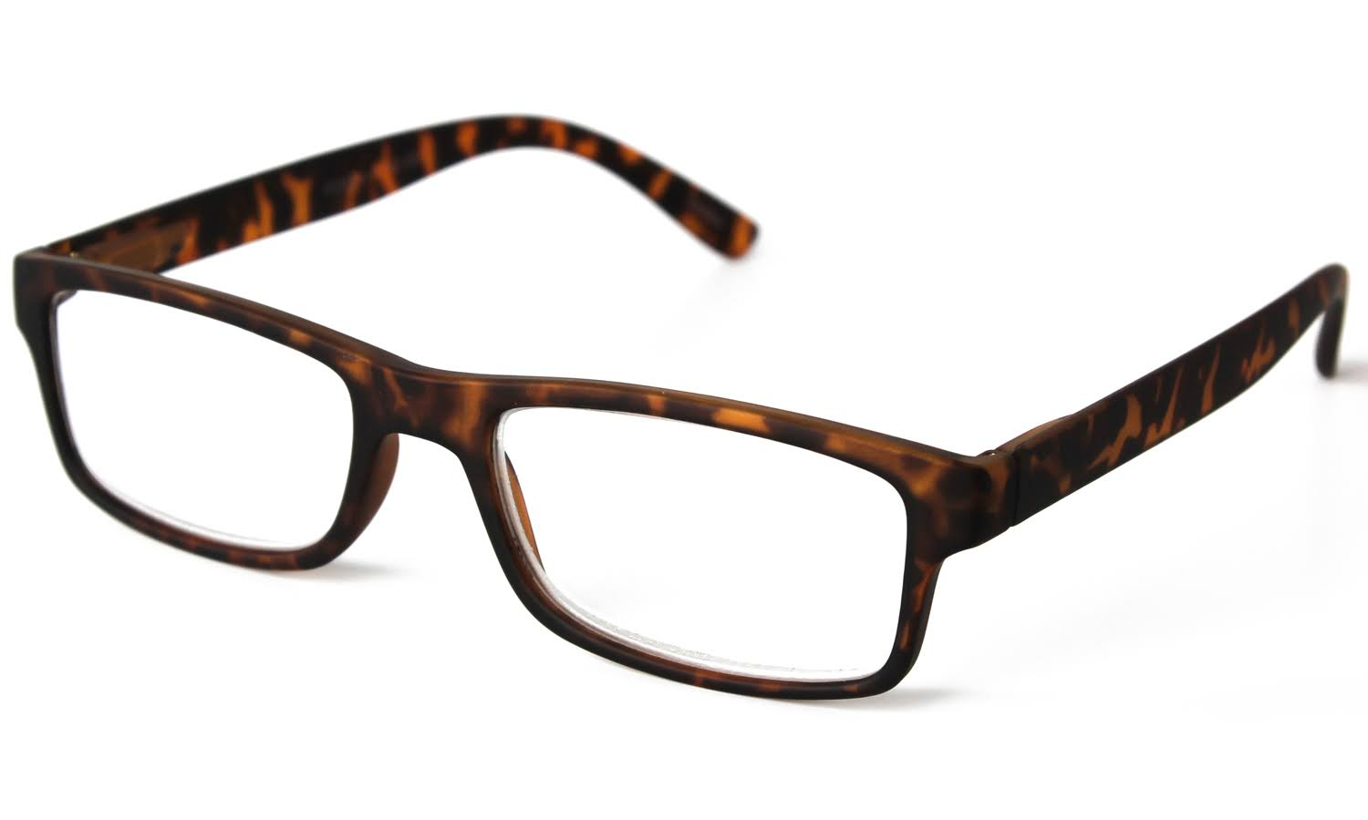 Optimum Womens Tortoise Amber Brown Reading Glasses