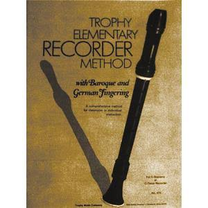 Trophy Elementary Recorder Method - Trophy Music