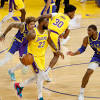 Warriors blown out by Lakers one night after best win of the season