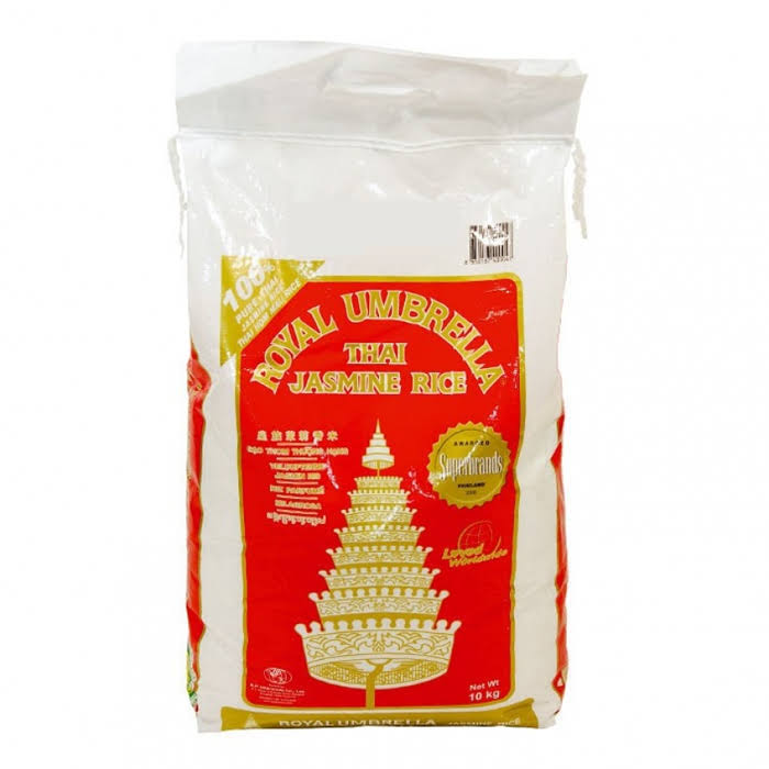 Royal Umbrella Thai Jasmine Rice 10kg