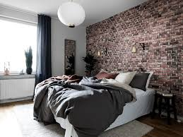 Masculine Bedroom Colors by Great Masculine Bedroom Grey Brick Grey Bed Linens White