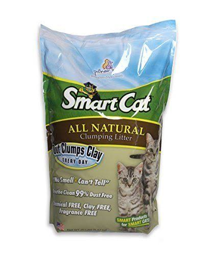 SmartCat All Natural Clumping Litter - 20lbs