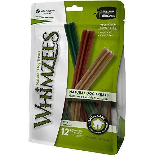 Whimzees Stix Value Bag Doggie Dental Chews - Medium, x12