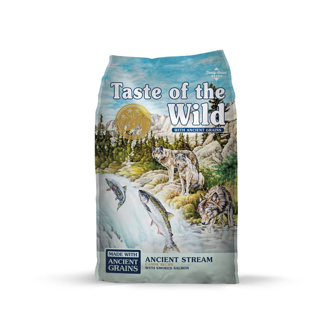 Taste of The Wild Ancient Stream with Ancient Grains Dry Dog Food - 5 lbs.