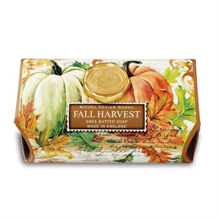Michel Design Works Bath Soap Bar - Fall Harvest, 9oz