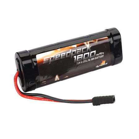 Dynamite Speed Pack 1800mAh NiMH 6 Cell Flat Pack with Traxxas Connect