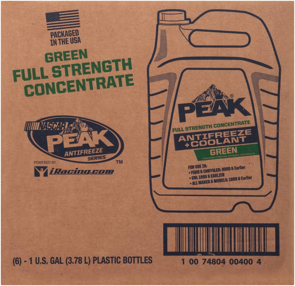 Peak Antifreeze Coolant - 1 Gallon